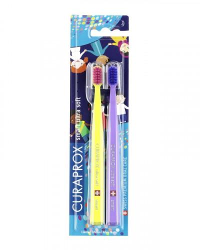 Toothbrush CS smart World Edition, 2 pcs.